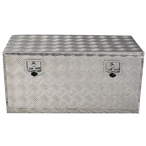 Aluminum Box Truck Pickup Underbody Bed Underbed RV ATV Trailer Storage Tool Box 36