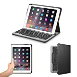 Anker Bluetooth Folio Keyboard Case for iPad Air 2 - Smart Case with Auto Sleep / Wake, Comfortable Keys and 6-Month Battery Life Between Charges (Not compatible with iPad Pro 9.7)