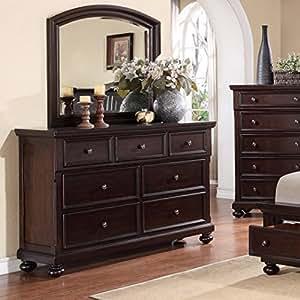 Amazon.com - Roundhill Furniture Brishland 7 Drawers ...