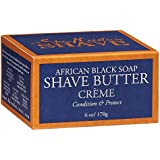 Shea Moisture Shave Butter Creme African Black Soap -- 6 oz