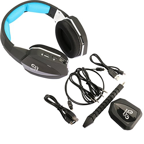EasySMX 2.4GHz Wireless Gaming Headset für Xbox 360/Xbox ONE/PS3/PS4 ...