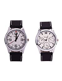 Veens Multicolor Dial Combo Pack Of 2 Boys/Gents/Mens Wrist Watch DW1084 Fa