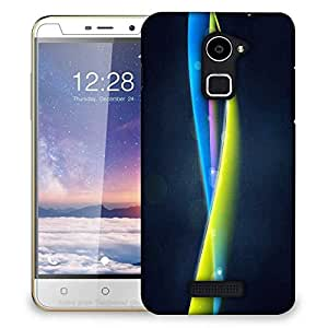 Snoogg Mixed Color Strips Designer Protective Phone Back Case Cover For Coolpad Note 3 Lite