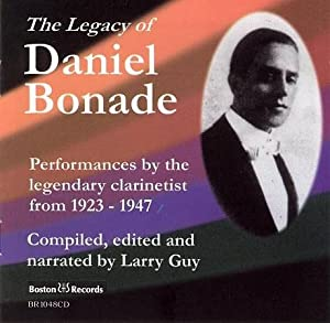 link to a recording of the Legacy of Daniel Bonade CD