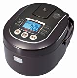 タイガー 炊飯器 土鍋IH 「炊きたて」 5.5合 ブラウン JKN-V100-T