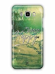 YuBingo Choose Happy Designer Mobile Case Back Cover for Samsung Galaxy J5 2016