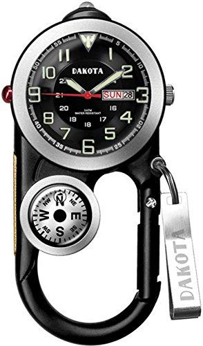 Dakota Watch Company Angler Ii Clip Watch, Black