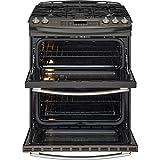GE-PGS950EEFES-Profile-30-Slate-Gas-Slide-In-Sealed-Burner-Double-Oven-Range-Convection