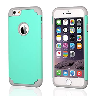 iPhone 6 Case 4.7 inch, BENTOBEN iPhone 6 Cover Slim Hybrid Dual Layer Shockproof Silicone Hard Case for Apple iPhone 6 4.7 inch by BENTOBEN
