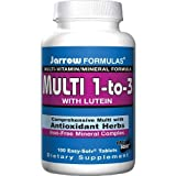 Jarrow Formulas Multi-vitamin 1-to-3, 100 Tablets