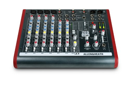 Allen & Heath ZED-10FX Four Mono Mic/Lines  2
