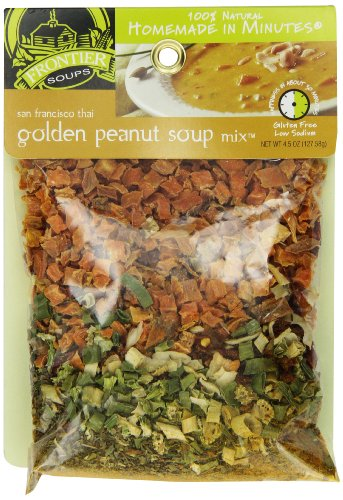 Frontier Soups Homemade In Minutes Soup Mix, San Francisco Thai Golden Peanut, 4.5 Ounce (Thai Soup Mix compare prices)