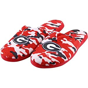 Buy Georgia Bulldogs NCAA 2013 Mens Camouflage Slide Slippers by NCAA