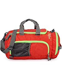 Bendly Red Polyester 945Cms Soft Sided Duffle_Bag