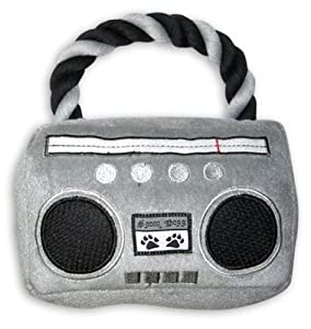 Snoop Dogg Pets Plus Boom-Box Dog Toy with Sound Chip