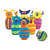 Melissa & Doug Monster Plush Bowling Game