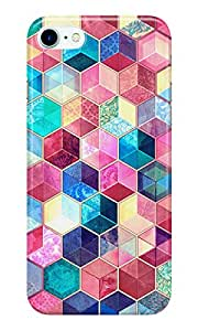 Dreambolic Topaz-&-Ruby-Crystal-Honeycomb-Cubes Back Cover for Apple iPhone 7