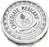 Taza Chocolate, Vanilla Bean Organic Mexicano Choco, 2.7 oz