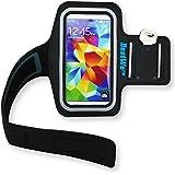 Bestwe Samsung Galaxy S5 mini Schwarz Neoprene Sports Jogging Armband Tasche Oberarmtasche Schutz H�lle Etui Case