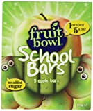 Fruitbowl Apple School Bars MultiPack 20 g (Pack of 12, Total 60 Bars)