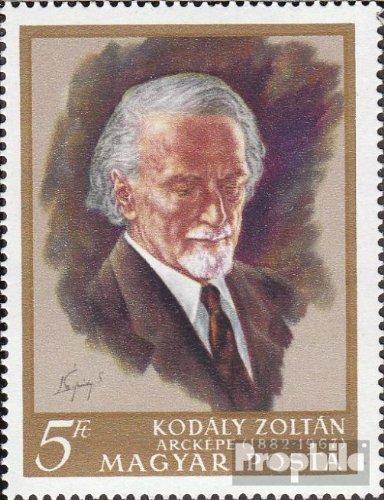 Ungarn 2396A (kompl.Ausg.) gestempelt 1968 Zoltán Kodály (Briefmarken für Sammler)