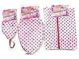 Disney Minnie Mouse Delicates Laundry Bag with Zipper Set - 3 Sizes for Lingerie & Shirts