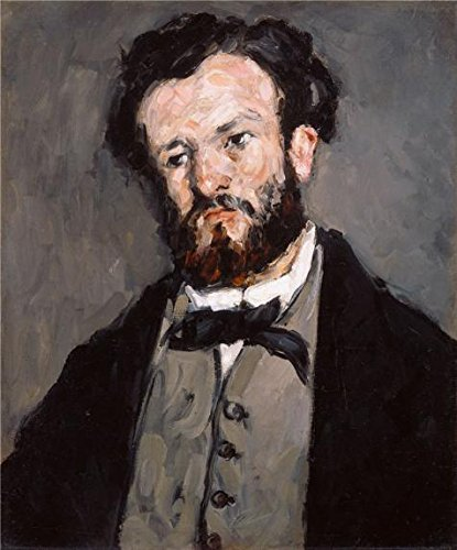 The High Quality Polyster Canvas Of Oil Painting 'Portrait Of Anthony Valabregue,1870 By Paul Cezanne' ,size: 18x22 Inch / 46x55 Cm ,this Reproductions Art Decorative Canvas Prints Is Fit For Kids Room Decoration And Home Gallery Art And Gifts