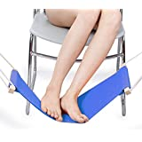 Pellor Portable Mini Office Foot Rest Stand Adjustable Desk Feet Hammock / The Foot Hammock,Put your foot up on the hammock under the desk comfortable for Your foot