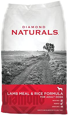 Diamond Naturals ADULT Real Meat Recipe Natural Dry Dog Food with Real Pasture Raised Lamb Protein
