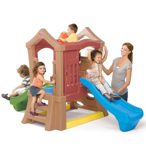 Step2  Play Up Double Slide Climber (Indoor Playhouse And Slide compare prices)