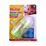Nuby Bpa Free Infant Feeder Feeding Bottle Set 40 Oz,120 Ml