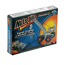 Nuts & Bolts Series 1-Yard Crane and Monster Truck