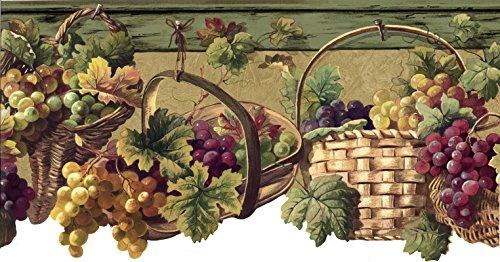 Grape Fruits Wallpaper Border 5508273 (Kitchen Wallpaper Border Grapes compare prices)