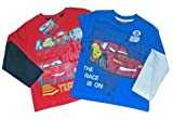 Disney Cars 2 Pack Top Quality long Sleeved T Shirts fom Sizes from 3-7yrs