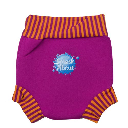 Splash About Happy Nappy (Swim Diaper) Pink Large (6-14 Months) front-866899