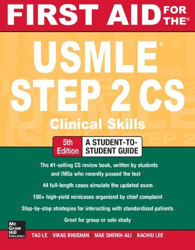 First aid for usmle step 2 cs 5th edition free download