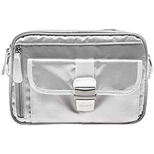 Nikon 1 Series & Coolpix Deluxe Digital Camera Case (Gray) for 1 S2, J4, V3, AW1, Coolpix L830, L840, P530, P600, P610, P900