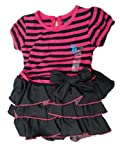 U.S. Polo Assn. Baby Girls' Banded Bottom Top and Ruffle Twofer Dress