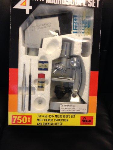 4Way Microscope Set 750 X 450 X 150