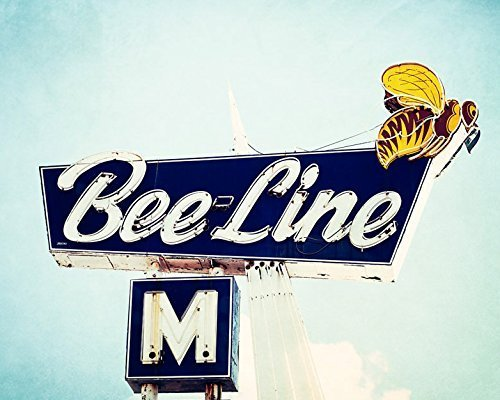 bee-line-motel-retro-sign-fine-art-photography-print