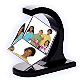 TIA Creation Private Limited TIA Creation ROTATING PHOTO FRAME 360 DEGREE FLOATING PHOTO CUBE FRAME HOME DECOR AND GIFT