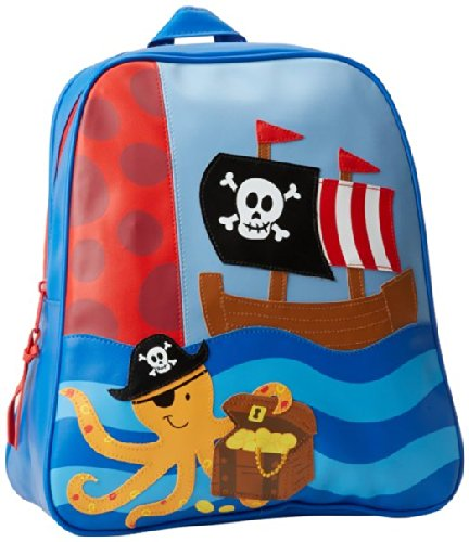 Stephen Joseph Little Boys' Go-Go Bag, Pirate, One Size