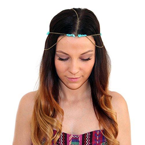 Bijoux Pour Cheveux Vintage : Vintage perle bandeau cheveux bijoux pour la t?te avec