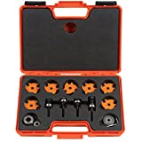 CMT 823.001.11 Slot Cutter Set in Carrying Case, 8mm bore, Carbide-Tipped