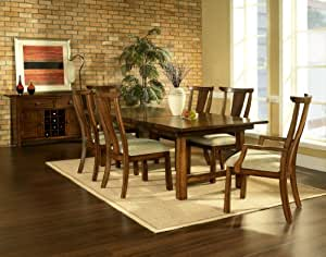 Dakota Dining Table Set 4 Chairs Kitchen Home