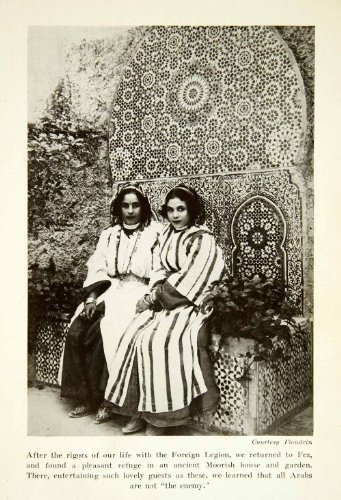 1932-print-fez-arab-moorish-women-traditional-costume-ethnic-dress-flying-carpet-original-halftone-p