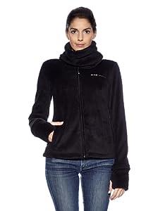 Black Canyon - Chaqueta forro polar para mujer, tamaño M, color negro
