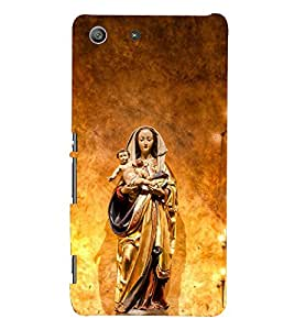 D KAUR Jesus Back Case Cover for Sony Xperia M5::Sony Xperia M5 Dual