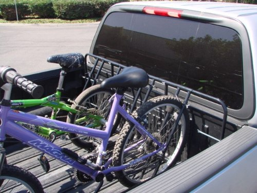 4 (Four) Bicycle Bike Rack Truck Pick Up Bed Mount Carrier Full & Compact New front-133498