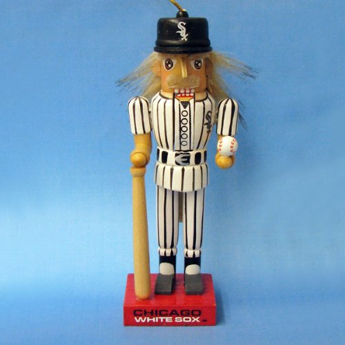 "Kurt S. Adler, Inc. 5"" Chicago White Sox Baseball Nutcracker Ornaments (Pack Of 72) at Amazon.com"